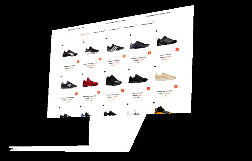 Magazin online pantofi ALY Media