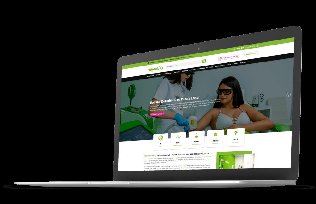 Realizare site Nomasvello