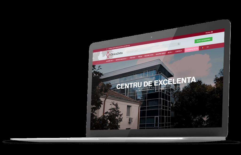 Creare site de prezentare Bucuresti ALY Media