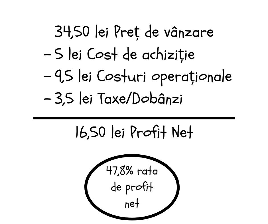 Indicatoprii financiari profit net