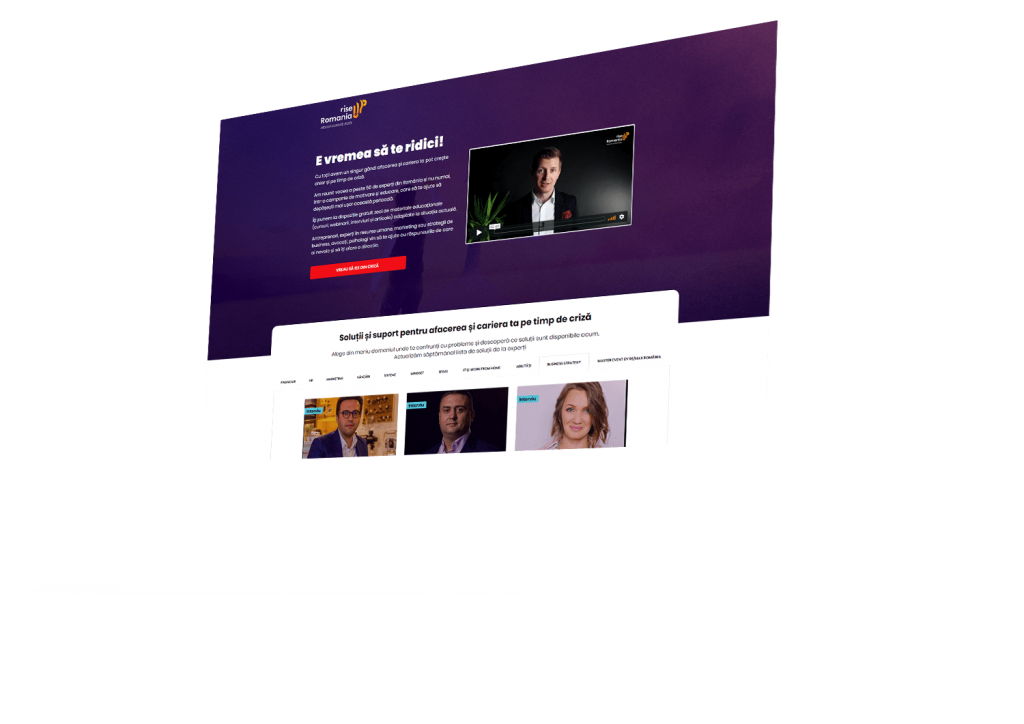Platformă cursuri online Lorand Soaresc Szasz