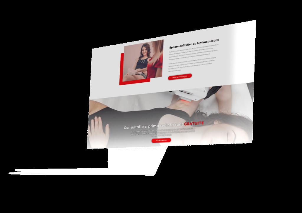 Realizare site de prezentare ALY Media