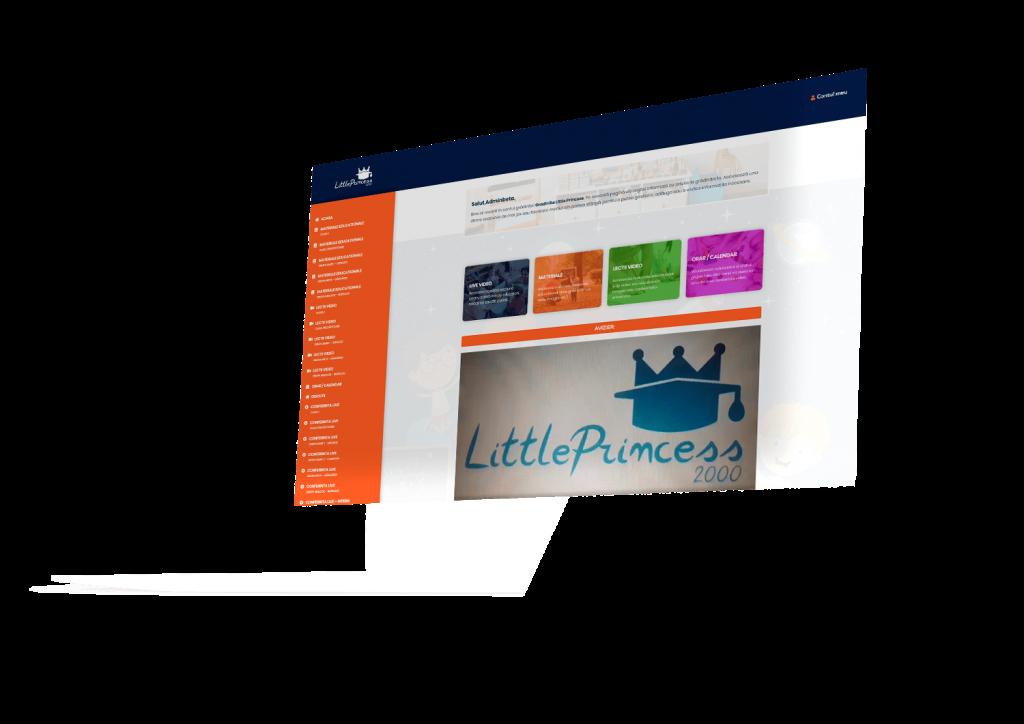 Prezentare platformă online grădiniță ALY Media
