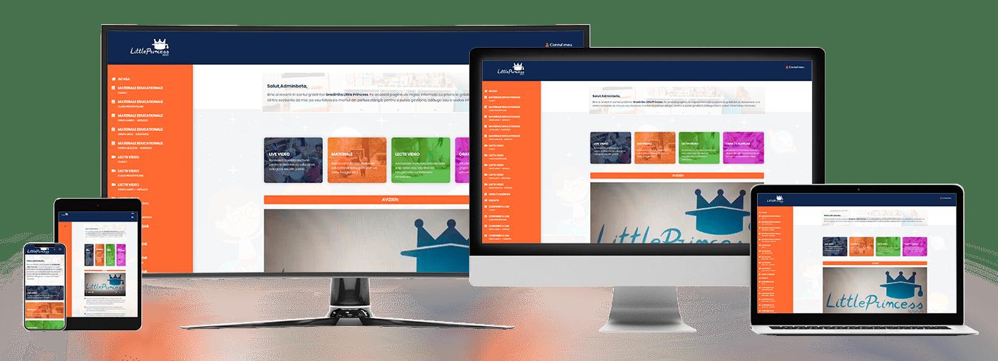 Platformă online grădiniță