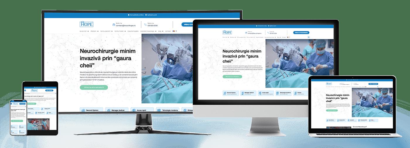 Realizare site de prezentare