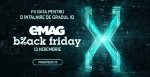 Evenimentul de Black Friday la eMag 2020
