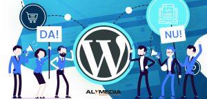 Website Wordpress pentru eCommerce PRO sau CONTRA